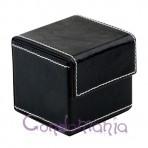 Odinė prezervatyvų dėžutė (juoda)