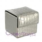 Odinė prezervatyvų dėžutė (sidabrinė)