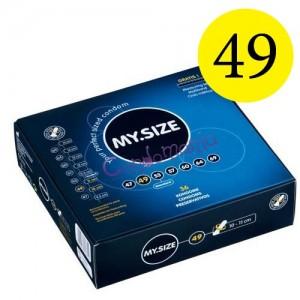 36 vnt. MySize 49 dydžio prezervatyvų dėžutė