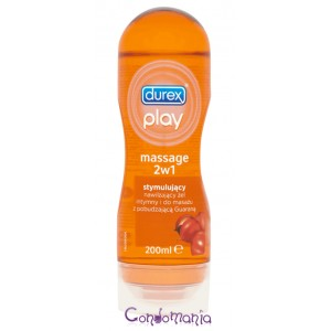 """DUREX """"Play 2 in 1 Massage Stimulating"""" želė 200ml."""