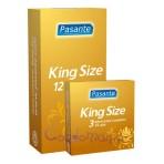 Pasante King Size (12vnt. dėžutė) prezervatyvai