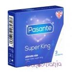 Pasante Super King (3vnt. dėžutė) prezervatyvai