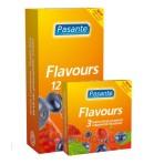 Pasante Mixed Flavours (12vnt. dėžutė) prezervatyvai