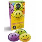 EXS Smiley Face (10vnt. dėžutė) prezervatyvai