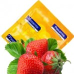 Pasante Strawberry NUOLAIDA (vienetais) prezervatyvai