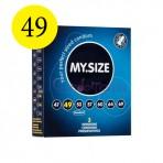 MySize 49 dydžio prezervatyvai (vienetais)