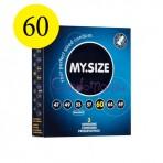 MySize 60 dydžio prezervatyvai (vienetais)