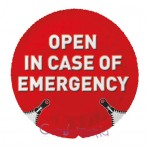 EXS Open in case of Emergency (vienetais)