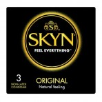 SKYN Original prezervatyvai be latekso (dėžutė 3vnt)