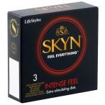Manix/LifeStyles SKYN Intense Feel prezervatyvai (dėžutė 3vnt)